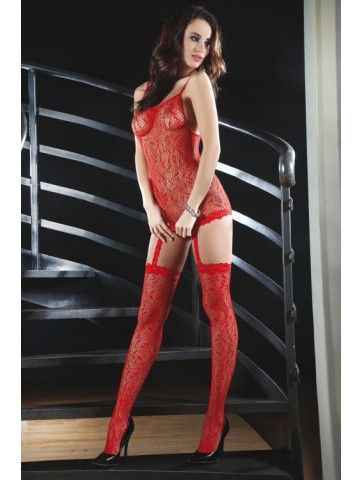Catriona Red LC 17093 bodystocking