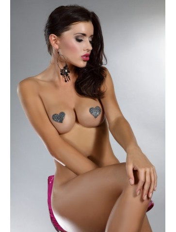 Heart Nipple Covers Model 12